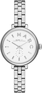 Marc by Marc Jacobs Sally Women's Silver Dial Stainless Steel Band Watch - MBM8642