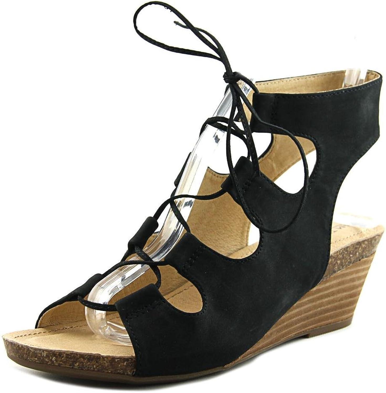 Adam Tucker Me To kvinnor Tami Tami Tami 8 Nubuck Cork Wedge Sandals  factory outlet online rabatt försäljning