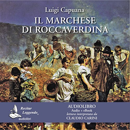 Il marchese di Roccaverdina [The Marquis of Roccaverdina] audiobook cover art