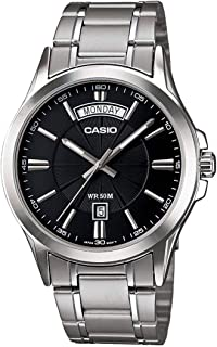 Casio Mtp-1381D-1Avdf For Men- Analog, Casual Watch, Grey Band, Analog Display