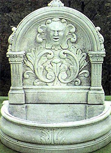 pompidu-living Wandbrunnen, Zierbrunnen, Springbrunnen H 130 Farbe Terracotta