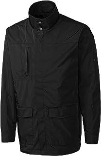 Cutter and Buck Men's Big & Tall Front Pockets Jacket, Black, 3XB