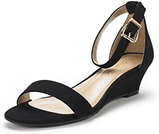 ladies wedge sandals size 9