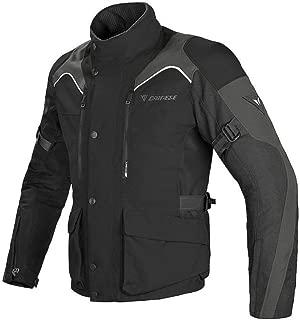 Dainese Tempest D-Dry Textile Motorcycle Jacket (EU 56 - US 46, Black/Black/Dark Grey)
