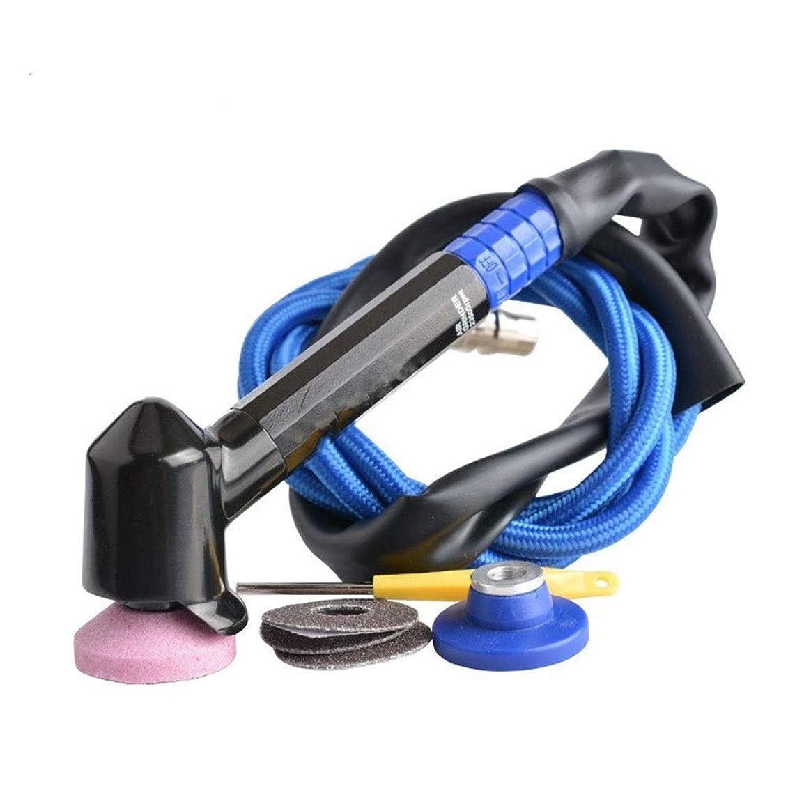 アナリストハンディキャップエンコミウムエア工具 45°エルボ風研削ペン、ハンドヘルド空気圧研磨ペンハンドツール