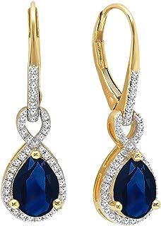 3.00 Ct Emerald Cut Amethyst /& Diamond Halo Stud Earrings 14k White Gold Finish