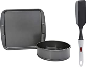 Prestige Aluminum Twin Pack Bakeware Set of 2-Piece, Gray