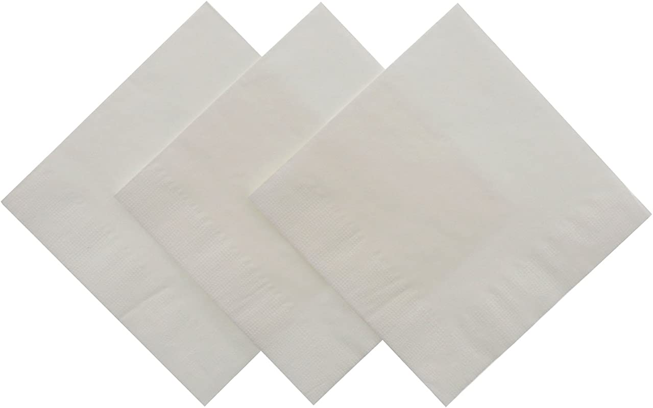 Royal White Beverage Napkin Package Of 1000