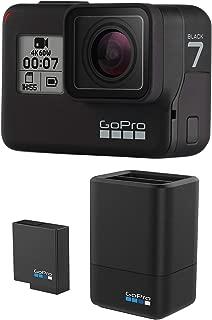【公式ストア限定】GoPro HERO7 Black + デュアルバッテリーチャージャー バンドル CHDHX-701-FW + AADBD-001-AS ゴープロ ヒーロー7 ブラック 【GoPro公式国内正規品】