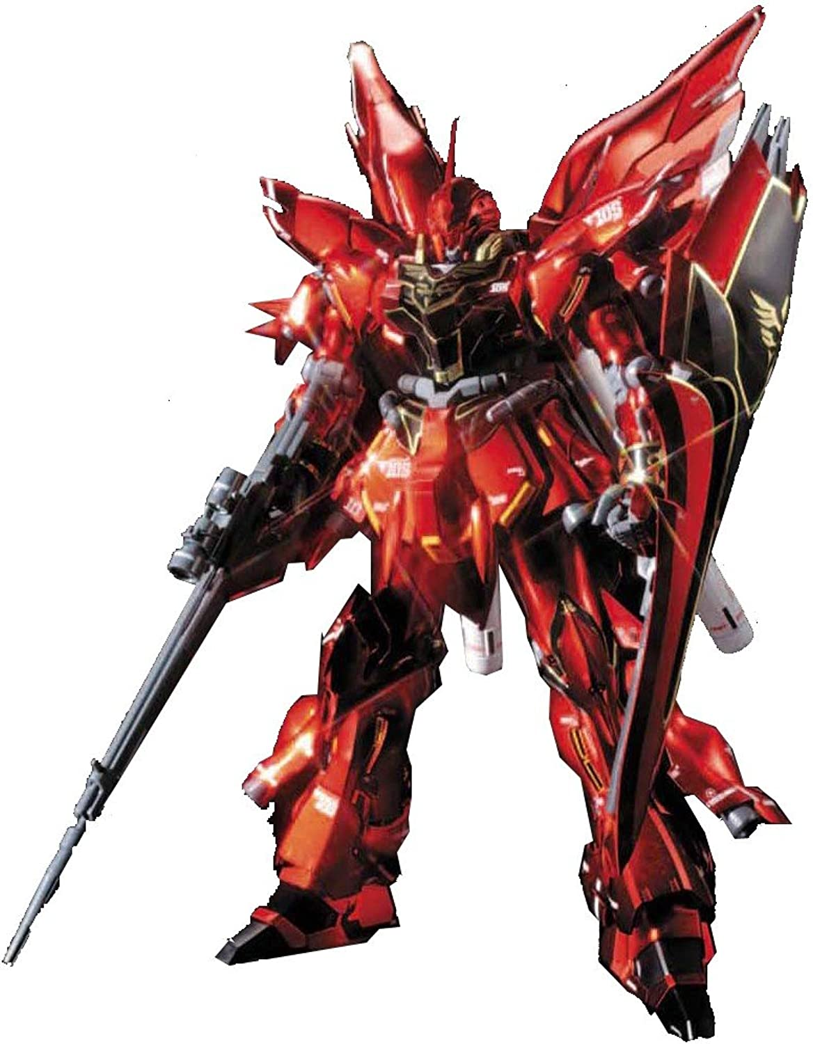 Sinanju Titanium Finish (HGUC) (1 144 scale Gundam Model Kits) [JAPAN] (japan import)