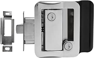 Chrome RV Paddle Entry Door Handle | RV Paddle Door Latch | With Deadbolt
