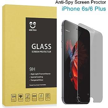 SZEETECH - Protector de pantalla de cristal templado para iPhone ...