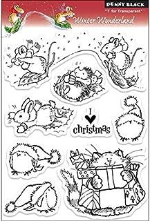 Penny Black 200834 Clear Stamps, Winter Wonderland