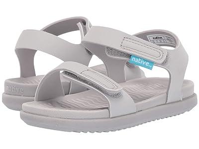 Native Kids Shoes Charley (Toddler/Little Kid) (Mist Grey/Mist Grey) Kids Shoes
