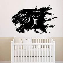 sybdnr etiqueta de la pared Leopardo de belleza Decoraciones para el hogar Calcomanía de PVC Sala de estar Dormitorio Habitación de los niños Mural 40x60cm 3pcs