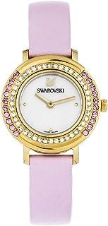 Swarovski Women's Quartz Watch, Analog Display and Leather Strap 5261462