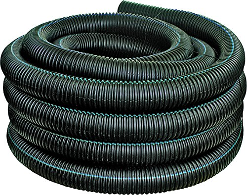 Advanced Drainage Systems 04510100 Solid Singlewall Pipe, 4' x 100'