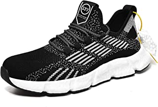 Men's Running Shoes Ultra Cushion Lace-up Lightweight Breathable Casual Athletic Tennis Walking Sport Fashion Sneakers