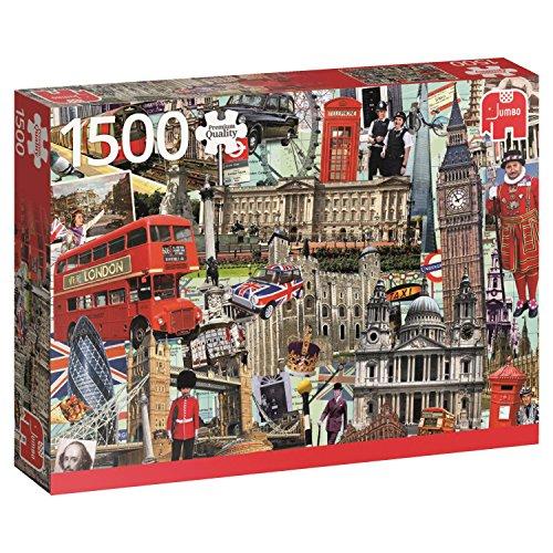 Jumbo- Best of… London, Puzzle de 1500 Piezas (618366)