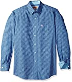Ariat Men's Big and Tall Classic Fit Wrinkle Free Shirt, Kirk Multi Colored...