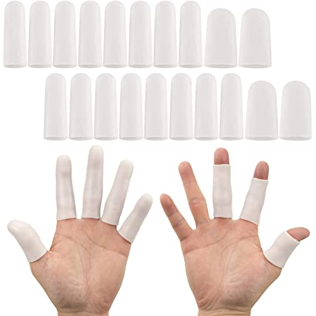 Silicone Elastic Finger Cot Protector Sleeve Cover 2020 Anti-slip Gloves Y2T9