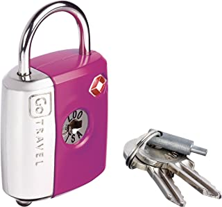 Design Go Dual Combi Key Lock Purple, One Size