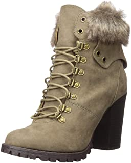 Fergalicious Women's Jackie Fashion Boot, Taupe, 5.5 M M US