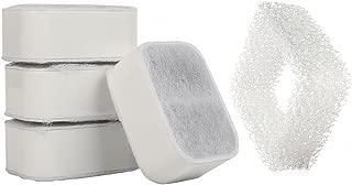 IPETTIE Tritone/Fiumi Ceramic Pet Lotus Pet Water Fountain Replacement Filters