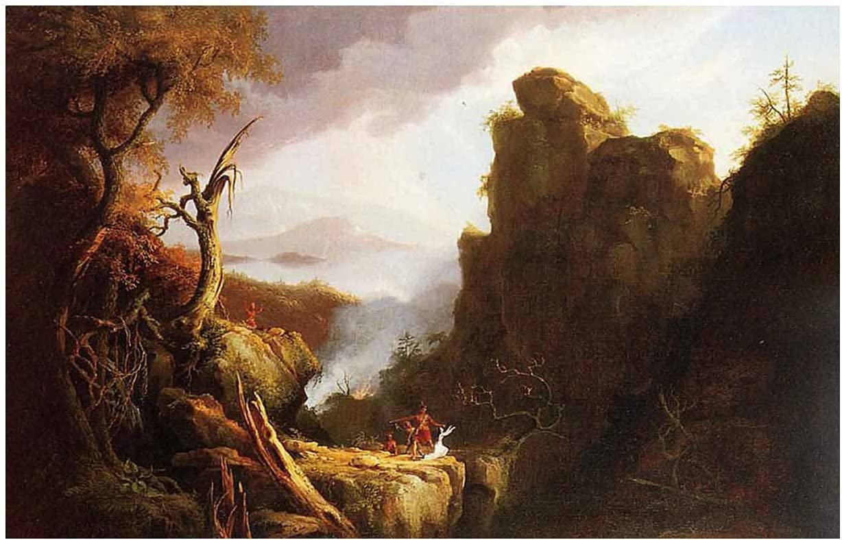 Max 44% OFF Thomas Cole Indian Max 84% OFF Sacrifice Painting Famous World Reproduction