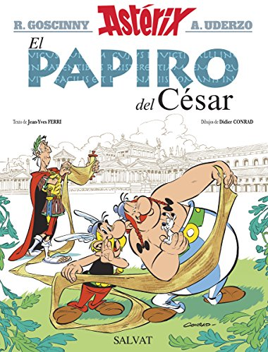 El papiro del César (Castellano - A Partir De 10 Años - Astérix - La Colección Clásica nº 36)