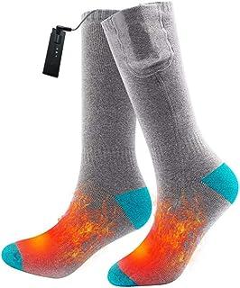 earlyad Heated Socks unisex litiumbatteri varma fötter vinterbatteri värmestrumpor varma värmestrumpor vinter Fitfort h la...