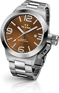 TW Steel Watch for Men, Stainless Steel, CB21