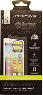 PureGear Steel 360 Series Tempered Glass with Alignment Tray for Pixel 2 XL