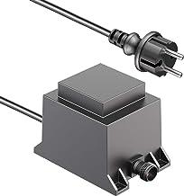 ledscom.de 40W LED transformator voedingseenheid voor IP44 insteeksysteem transformator 24V AC buitengebruik