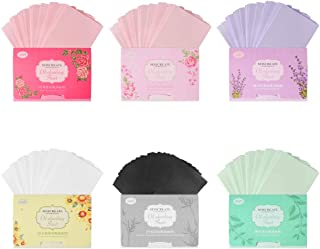 Oil Blotting Paper, 6 Pack of Oil Absorbing Tissues Organic Blotting Paper for Makeup, Oily Skin Care (600 Sheets)