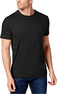 Club Room Men's Crew Neck Pocket T-Shirt
