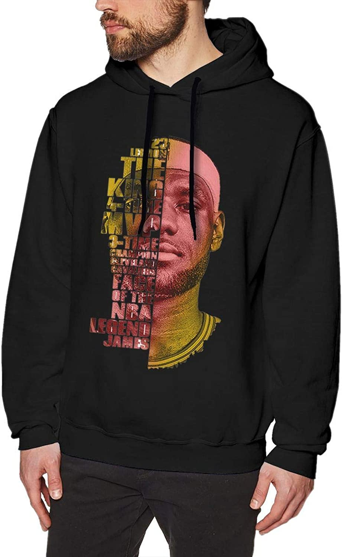 DLAZANA 2K19 LBJ James Pattern Logo Cotton Hoodies Sweatshirts