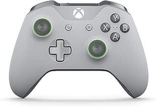 Xbox Wireless Controller - Grey/Green (Renewed)