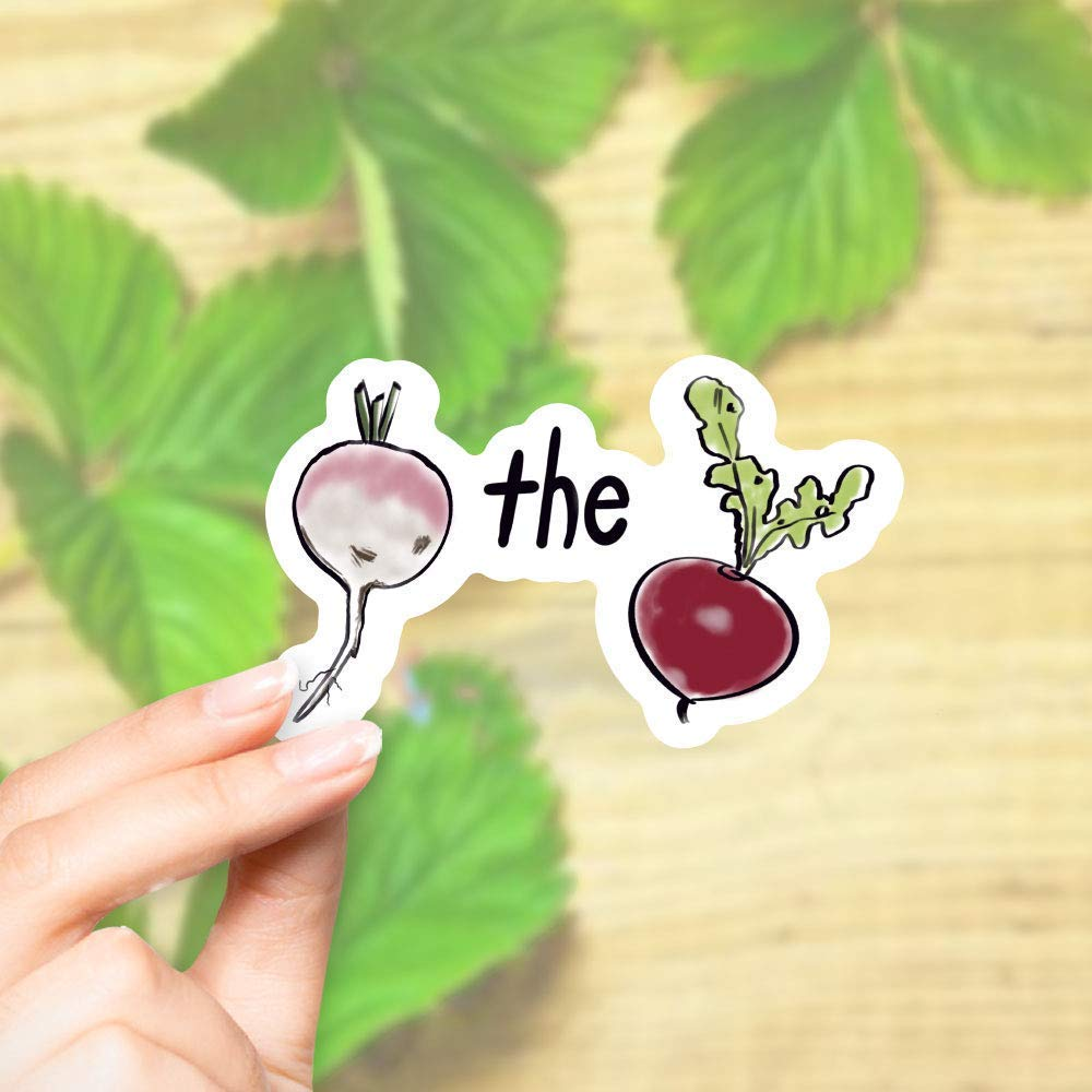 Bargain Turnip the Beet Sticker - for Water Ph Bottles Laptops Cell and Virginia Beach Mall