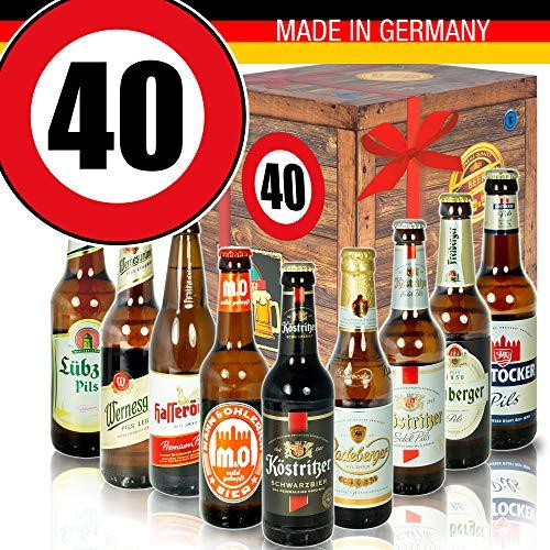 Geburtstagsgeschenk - Ostdeutsche Biere - Geburtstag 40 - Geschenke Vater