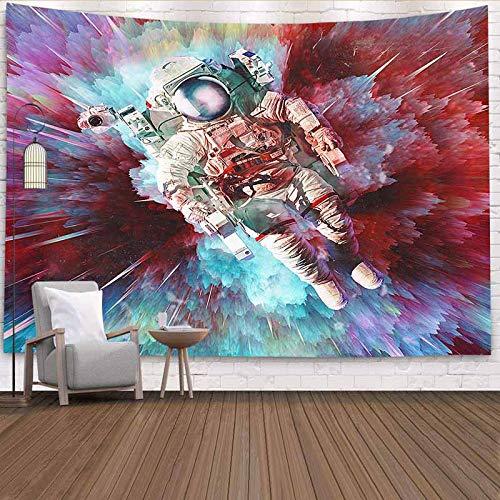 Tapiz de astronauta psicodélico montaje en pared tapiz de pared psicodélico tapiz de tela de pared cósmica tapiz A1 150x200cm