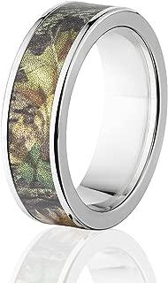 Mossy Oak Rings, Camo Wedding Bands, Titanium New Breakup Camo Rings