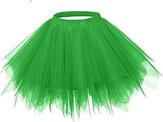 Womens Tutu Costume Adult Party Dance Tulle Skirt Short Fluffy Petticoat