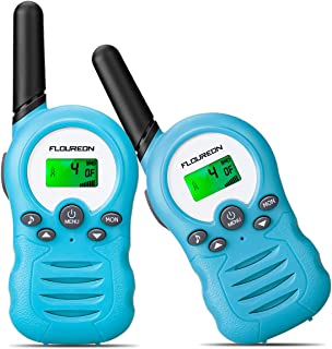 FLOUREON Walkie Talkies,Niños al Aire Libre Radio