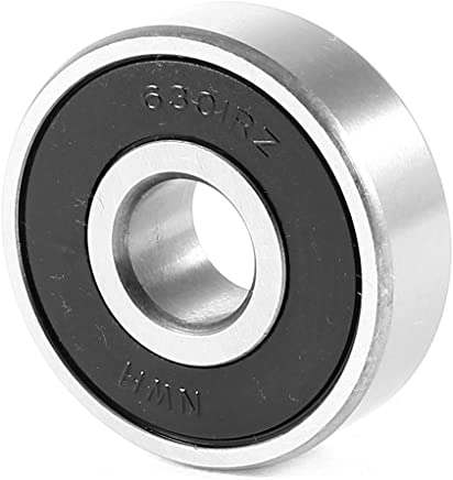 Replacement 6301RZ Roller-Skating Deep Groove Ball Bearing 37x12x12mm