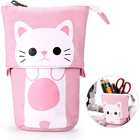 Pencil case stationery hare  pencil pouch canvas bag pencil holder make up bag school supplies