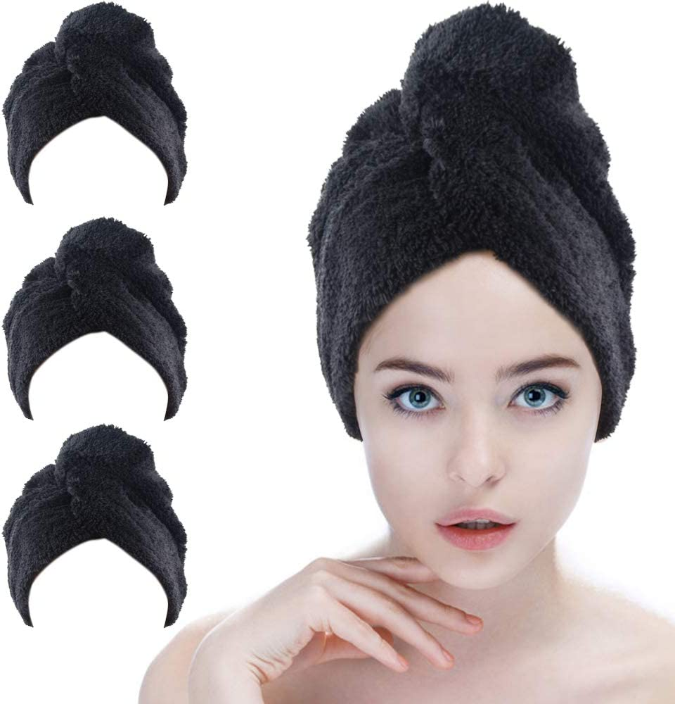 Sinland Microfiber Free shipping anywhere in the nation Hair Drying Cap Towel for Twist Super beauty product restock quality top L Turban