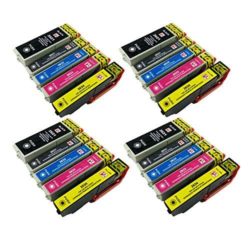 Perfectprint cartuccia di ricambio per Epson XP-51060060561061570080026XL (nero/(CLI-551BK/ciano/magenta/giallo, confezione da)