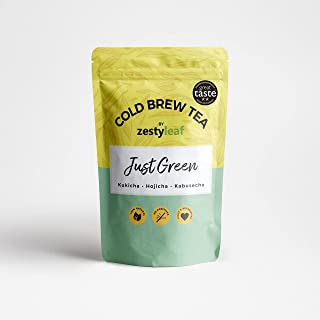 Zestyleaf Just Green Tea Pouch (20 Bags) 40 g