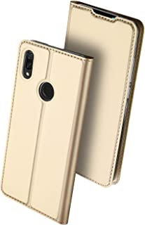 DUX DUCIS Huawei Y9 (2019)/enjoy 9 Plus case leather flip phone shell with card holder business anti fall protective sleev...